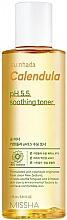 """Voňavky, Parfémy, kozmetika Upokojujúci toner na """"Nechtík"""" pre citlivú pokožku - Missha Su:Nhada Calendula pH 5.5 Soothing Toner"""