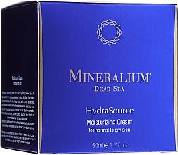 Voňavky, Parfémy, kozmetika Hydratačný krém pre normálnu a suchú pokožku - Mineralium Dead Sea HydraSource Moisturizing Cream For Normal To Dry Skin