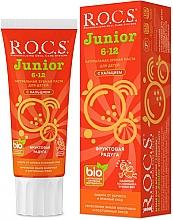 Voňavky, Parfémy, kozmetika Zubná pasta, ovocná dúha - R.O.C.S. Junior