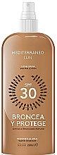 Voňavky, Parfémy, kozmetika Lotion na opaľovanie - Mediterraneo Sun Suntan Lotion SPF30