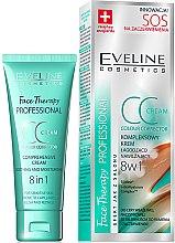 Voňavky, Parfémy, kozmetika CC krém upokojujúci-spevňujúci - Eveline Cosmetics Therapy