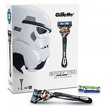 Voňavky, Parfémy, kozmetika Holiaci strojček s 2 výmennými kazetami - Gillette Fusion Proglide Rogue One