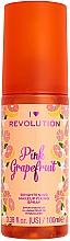 Voňavky, Parfémy, kozmetika Fixačný sprej na make-up - I Heart Revolution Fixing Spray Grapefruit