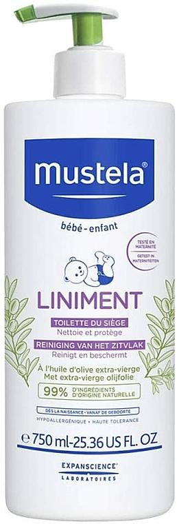 Čistiace mlieko - Mustela Bebe Liniment