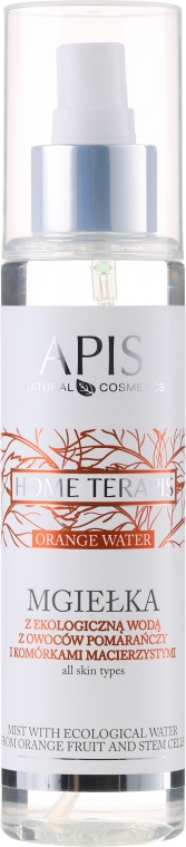 Oranžová hmla - Apis Professional Home terApis Mist Organic Orange Fruit Water