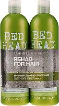 Voňavky, Parfémy, kozmetika Sada - Tigi Bed Head Rehab For Hair Kit (shm/750ml + cond/750ml)