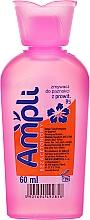 Voňavky, Parfémy, kozmetika Odlakovač bez acetónu, ružová fľaštička - Ampli