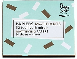 Voňavky, Parfémy, kozmetika Matovacie obrúsky - Peggy Sage