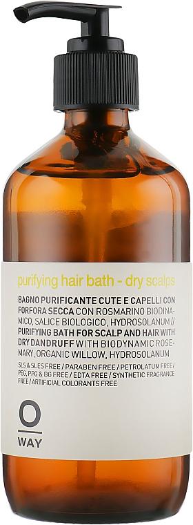 Šampón proti lupinám pre suchú pokožku hlavy - Oway Purifying Hair Bath Dry Scalps — Obrázky N1
