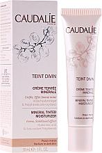 Voňavky, Parfémy, kozmetika Hydratačný minerálny krém s tonálnym účinkom pre tmavú pokožku - Caudalie Teint Divin Mineral Tinted Moisturizer