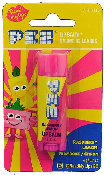 """Balzam na pery """"Malina a citrón"""" - PEZ Raspberry Lemon Lip Balm — Obrázky N1"""