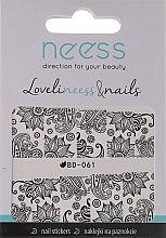 Voňavky, Parfémy, kozmetika Nálepky na nechty, 3685, BD-061 - Neess LoveliNeess & Nails