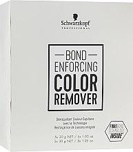 Voňavky, Parfémy, kozmetika Prostriedok na odstránenie umelého pigmentu z vlasov - Schwarzkopf Professional Bond Enforcing Color Remover
