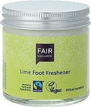 """Voňavky, Parfémy, kozmetika Krém na nohy """"Limetka"""" - Fair Squared Lime Foot Freshener"""