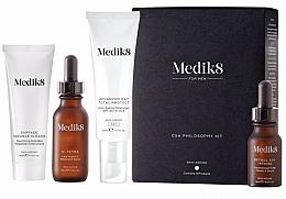 Voňavky, Parfémy, kozmetika Sada - Medik8 CSA Philosophy Kit For Men (clencer/40ml + f/cer/30ml + f/cr/50ml +f/ser/15ml)
