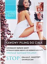 """Voňavky, Parfémy, kozmetika Telový peeling """"Káva"""" - Czyste Piękno"""