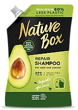 Voňavky, Parfémy, kozmetika Šampón na vlasy s avokádovým olejom - Nature Box Avocado Oil Shampoo Refill Pack (náhradná jednotka)