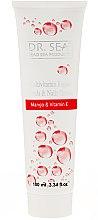 """Voňavky, Parfémy, kozmetika Multivitamínový liečivý krém na ruky a nechty s olejom """"Mango a vitamín E"""" - Dr. Sea Hands & Nails Cream"""