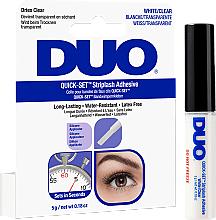 Voňavky, Parfémy, kozmetika Lepidlo na falošné mihalnice, transparentné - Ardell Duo Quick Set
