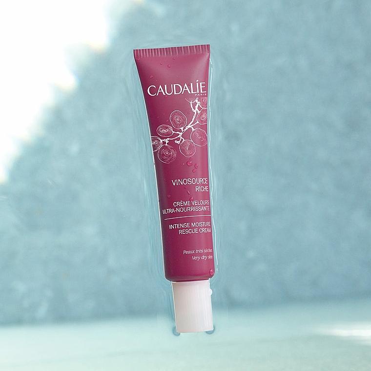 Krém-velúr ultravýživové obnovenie - Caudalie Vinosource Intense Moisture Rescue Cream — Obrázky N4