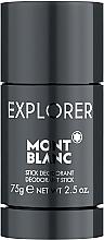 Voňavky, Parfémy, kozmetika Montblanc Explorer - Dezodorant-stick