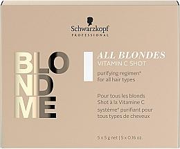 Voňavky, Parfémy, kozmetika Koncentrát vitamínu C pre všetky typy vlasov - Schwarzkopf Professional Blondme All Blondes Vitamin C Shot