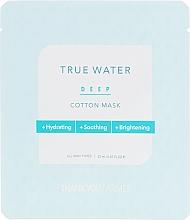 Voňavky, Parfémy, kozmetika Textilná maska s hlbokým hydratačným účinkom - Thank You Farmer True Water Deep Cotton Mask