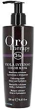 Voňavky, Parfémy, kozmetika Intenzívna tónovacia maska na vlasy - Fanola Oro Therapy Viola Intenso Color Mask
