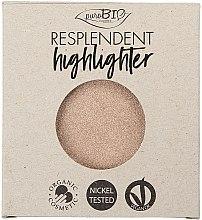 Voňavky, Parfémy, kozmetika Highlighter - PuroBio Cosmetics Resplendent Highlighter (vymeniteľná jednotka)