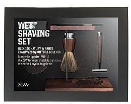 Voňavky, Parfémy, kozmetika Sada - Zew For Men Wet Shaving Set (soap/85ml + razor/1psc + sh/brush/1pcs + sh/cup/1pcs + sh/stand/1pcs)