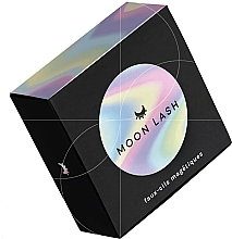 Voňavky, Parfémy, kozmetika Sada - Moon Lash Magnetic Eyelashes 004 Attractive Venus (eyelashes/1pcs + clip)