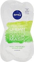 Voňavky, Parfémy, kozmetika Zlupovacia maska na tvár - Nivea Urban Skin Peel Off Detox Mask