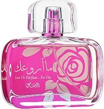 Voňavky, Parfémy, kozmetika Rasasi Maa Arwaak - Parfumovaná voda
