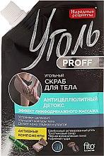 """Voňavky, Parfémy, kozmetika Uhlíkový scrub na tvár """"Proticelulitídový detox"""" - Fito Kosmetik Ľudové Recepty"""