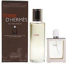 Voňavky, Parfémy, kozmetika Hermes Terre d'Hermes Eau Tres Fraiche - Sada (edt/125ml + edt/30ml)