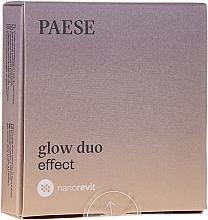 Voňavky, Parfémy, kozmetika Púder a lícenka na tvár - Paese Nanorevit Glow Duo Effect Powder And Blush