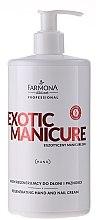 Voňavky, Parfémy, kozmetika Regeneračný krém na ruky a nechty - Farmona Exotic Manicure SPA