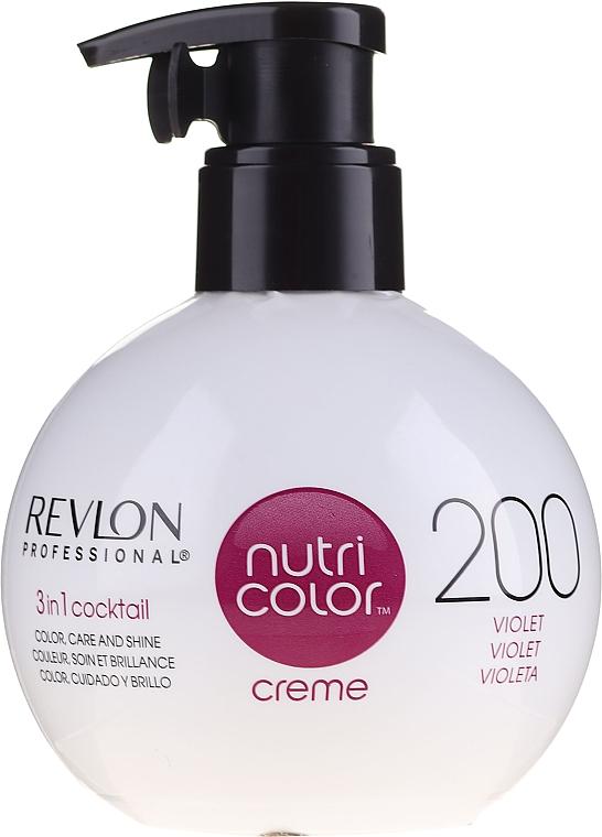 Tónovací balzam na vlasy - Revlon Professional Nutri Color Creme