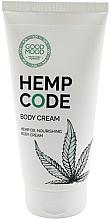 Voňavky, Parfémy, kozmetika Výživný telový krém s konopným olejom pre suchú pleť - Good Mood Hemp Code Body Cream