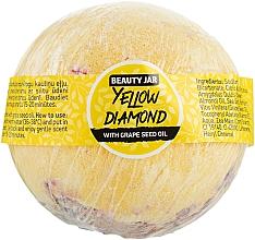 """Voňavky, Parfémy, kozmetika Bomba do kúpeľa """"Yellow Diamond"""" - Beauty Jar With Grape Seed Oil Natural Bath Bomb"""