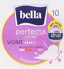 Voňavky, Parfémy, kozmetika Vložky Perfecta Violet Deo Fresh Soft Ultra, 10ks - Bella