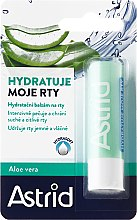 Balzam na pery - Astrid Moisturizing Lip Balm With Aloe Vera — Obrázky N1