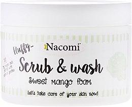 "Voňavky, Parfémy, kozmetika Peelingová pena na umývanie ""Mango"" - Nacomi Scrub and Wash Sweet Mango Foam"
