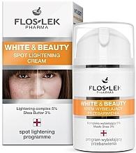 Voňavky, Parfémy, kozmetika Krém na zosvetlenie pigmentných škvrn - Floslek White & Beauty Spot Lightening Cream
