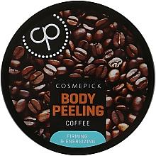 Voňavky, Parfémy, kozmetika Cukrový peeling na telo s kávovým extraktom - Cosmepick Body Peeling Coffee