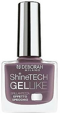 Lak na nechty - Deborah Shine Tech Gel Like — Obrázky N1