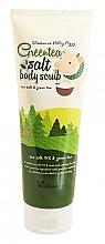 Voňavky, Parfémy, kozmetika Telový peeling s extraktom zo zeleného čaju - Elizavecca Body Care Milky Piggy Greentea Salt Body Scrub