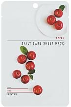 Voňavky, Parfémy, kozmetika Výživná maska na tvár s jablkovým extraktom - Eunyu Daily Care Sheet Mask Shea Apple
