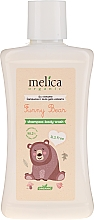 """Voňavky, Parfémy, kozmetika Šampón a sprchový gél """"Medvieďatko"""" - Melica Organic Funny Bear Shampoo-Body Wash"""