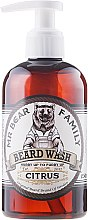 Voňavky, Parfémy, kozmetika Šampón pre bradu - Mr. Bear Family Beard Wash Citrus
